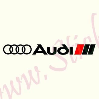 Audi Logo-Model 5 - Stickere Auto