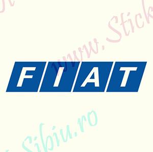 Fiat Logo-Model 1 - Stickere Auto