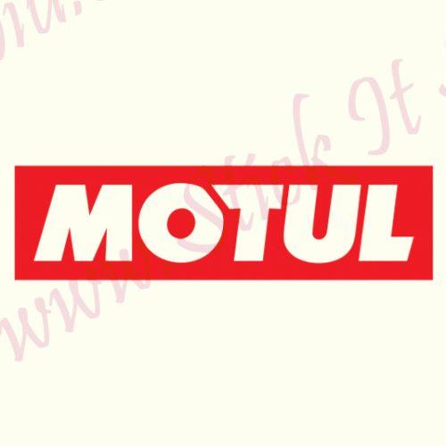 Motul-Model 1 - Stickere Auto