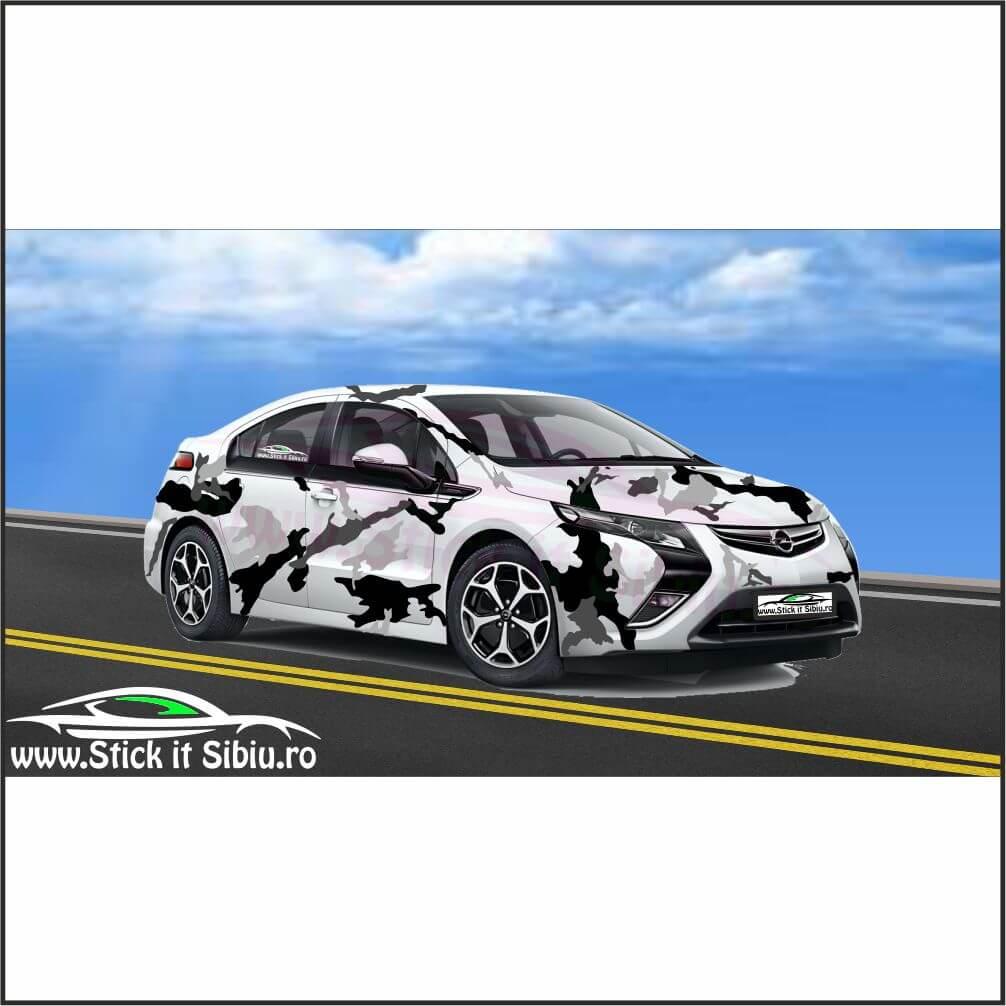 Camuflaj Royal Splatter DUO- Stickere auto