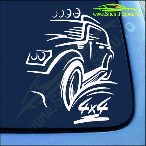 Off Road 4x4 - Stickere Auto