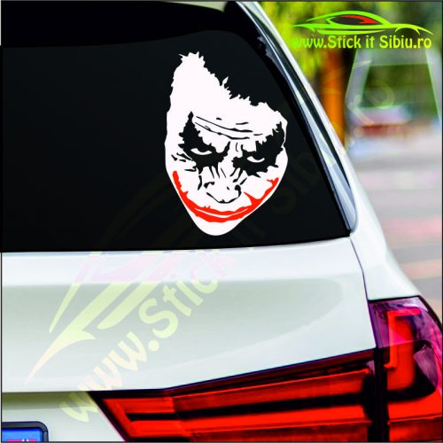 Joker Face - Stickere Auto