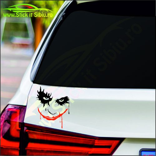 Joker Face-Model 2 - Stickere Auto