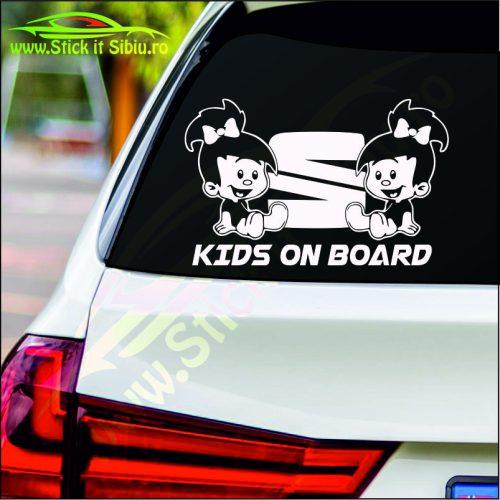 Kids on Board - Stickere Auto