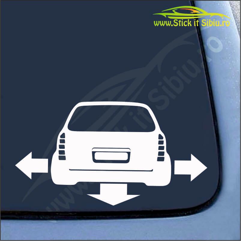 Opel Astra G Break - Stickere Auto