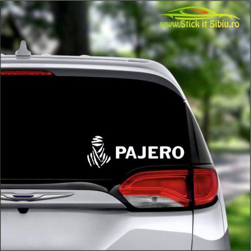 Mitsubishi Pajero - Stickere Auto