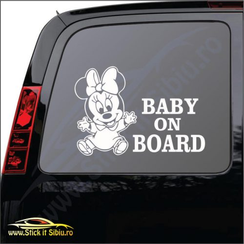 Baby On Board Model 3 - Stickere Auto