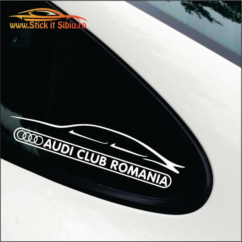 Audi Club Romania - Stickere Auto