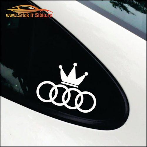Audi King - Stickere Auto