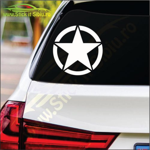 U.S. Star - Stickere Auto