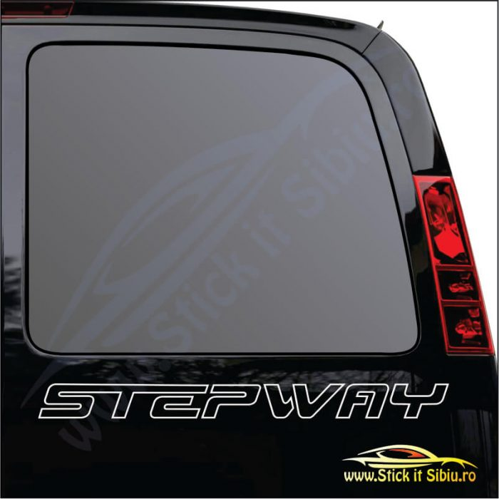 Dacia Sandero Stepway Model 2 - Stickere Auto