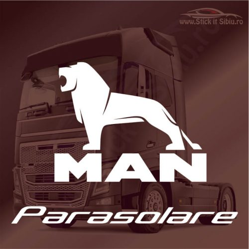 Stickere Parasolar Man - Stickere Tir-Camion