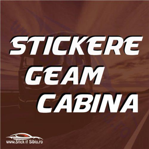 Stickere Geam - Cabina Iveco