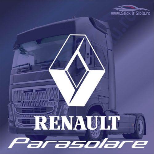 Stickere Parasolar Renault - Stickere Tir-Camion