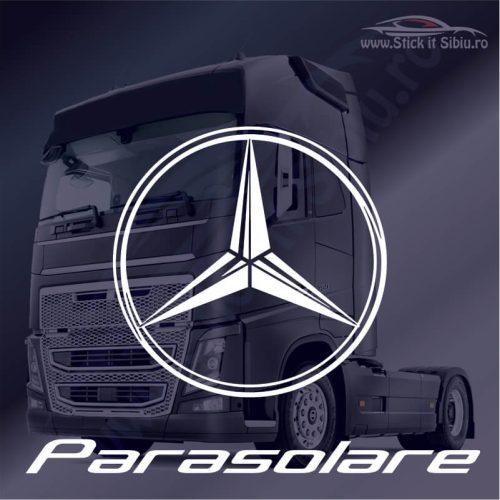 Stickere Parasolar Mercedes - Stickere Tir-Camion