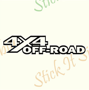 Stickere Auto 4×4 Off Road-Model 7
