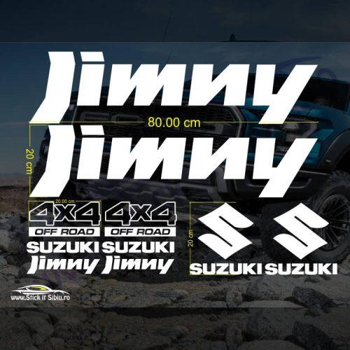 Set Suzuki Jimny - Stickere Auto - Off Road