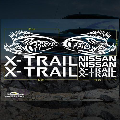Set Stickere Nissan X-trail - Stickere Auto - Off Road