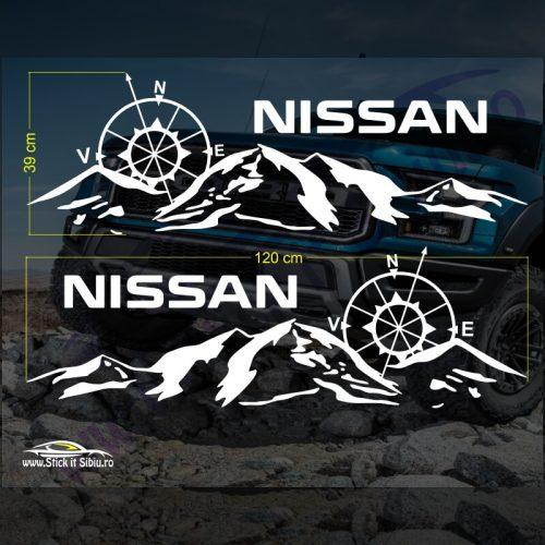Set Stickere Nissan V3 - Stickere Auto - Off Road