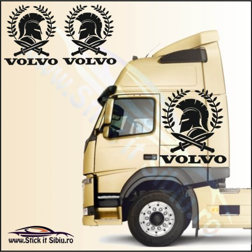 Stickere Cabina TIR-Camion Volvo Model 17 - Stickere Camion