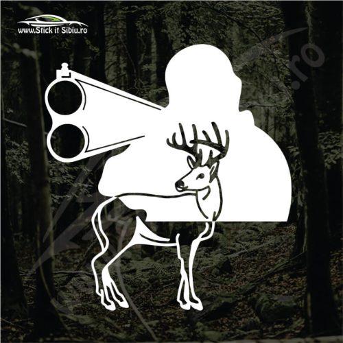 Deer Hunter - Stickere Auto