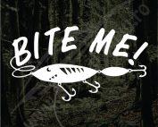 Bite Me - Model 3 - Stickere Auto