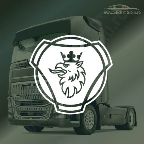 Stickere Scania