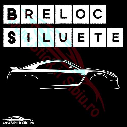 Breloc Siluete Auto