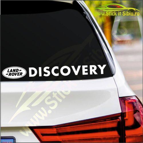 Land Rover Discovery - Stickere Auto