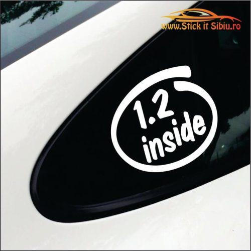 1.2 Inside - Stickere Auto