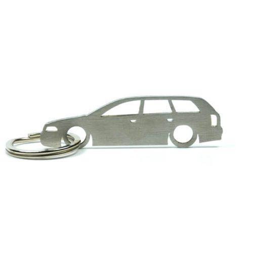 Breloc Silueta Otel Inoxidabil - Audi - A4 B5 Avant