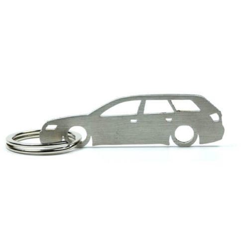 Breloc Silueta Otel Inoxidabil - Audi - A4 B6 Avant