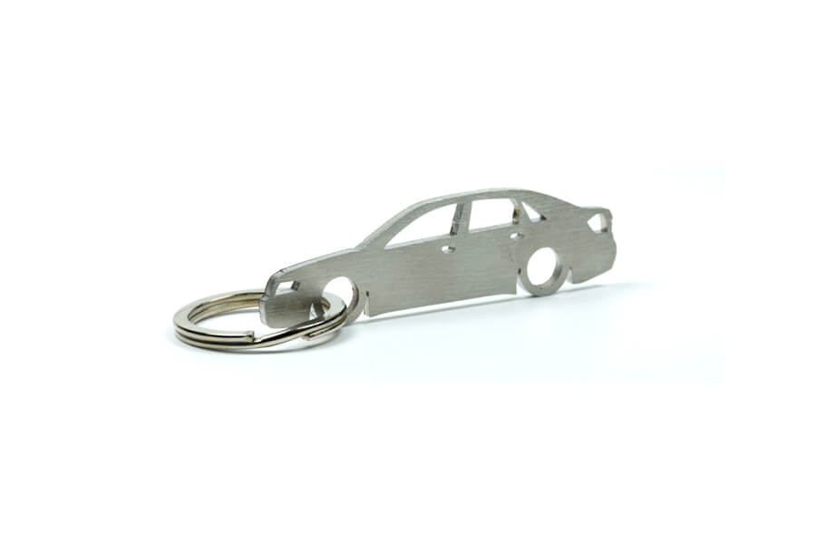 Breloc Silueta Otel Inoxidabil - Audi - A4 B6 Sedan