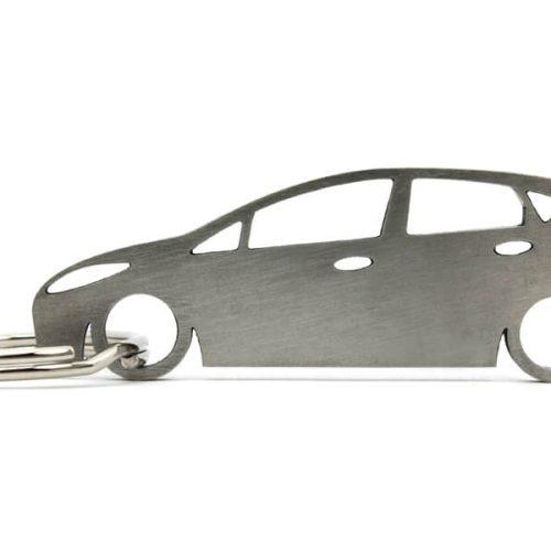 Breloc Silueta Otel Inoxidabil - FORD - Fiesta Mk7 5 usi