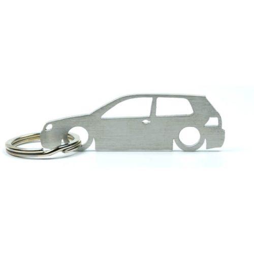Breloc Silueta Otel Inoxidabil - VOLKSWAGEN - Golf MK4 3 door