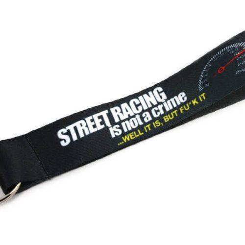 Short Lanyard - Street racing is not a crime