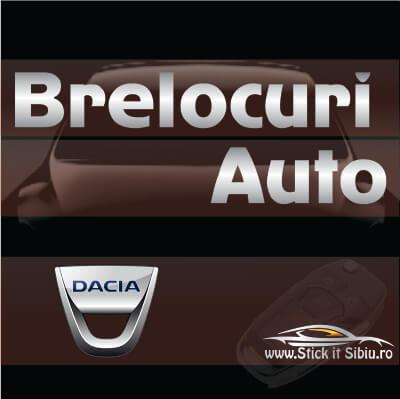 Brelocuri Auto Dacia