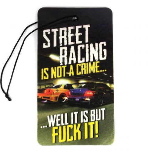 Odorizant Auto - Street racing is not a crime