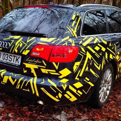 Pachet Camuflaj Yellow Fever - Stickere Auto