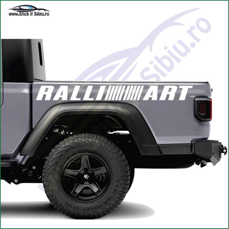 Rali Art Logo - Stickere Auto