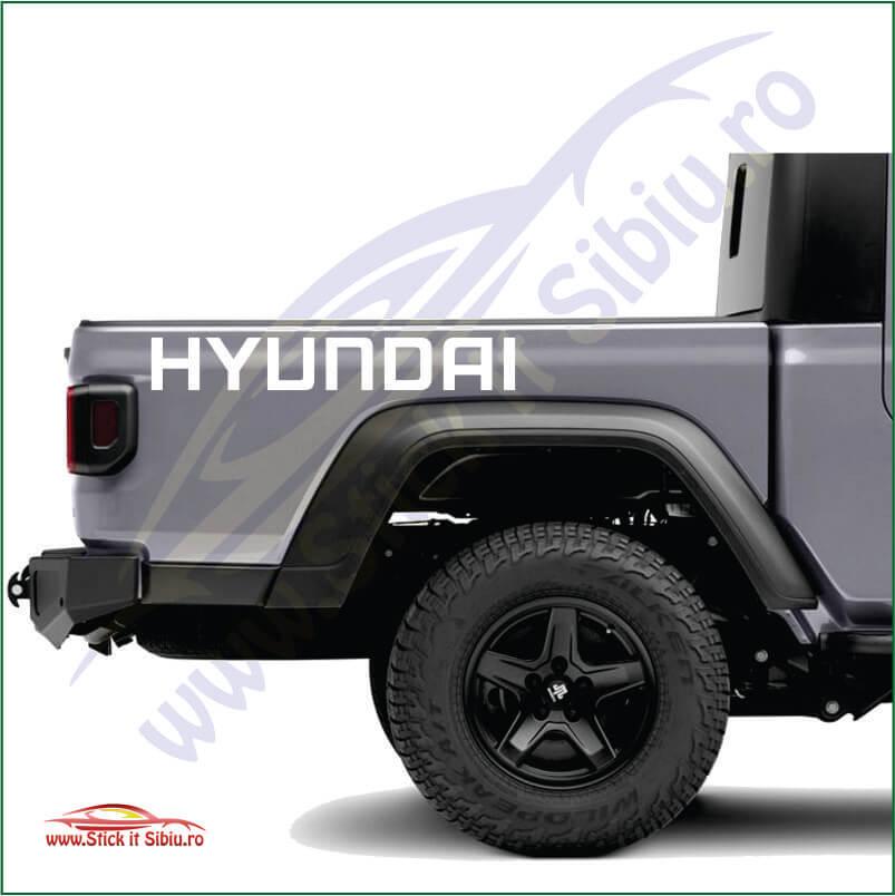 Hyundai logo - Stickere Auto
